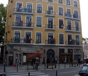 Le mur des Lyonnais