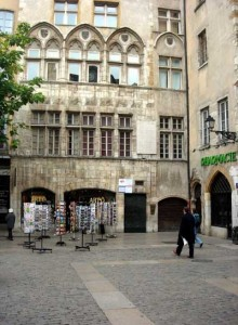 Vieux Lyon traboules - Maison Thomassin, place du Change
