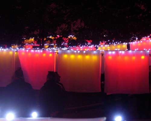 Fête des lumières Lyon 2009 - Hôtel-Dieu