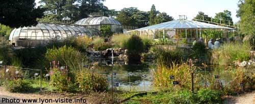 Petites serres du jardin botanique du Parc de la Tête d'Or, Lyon