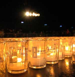 Fête des lumières Lyon 2009 - Lumignons du coeur - DR Ville de Lyon M.Chaulet