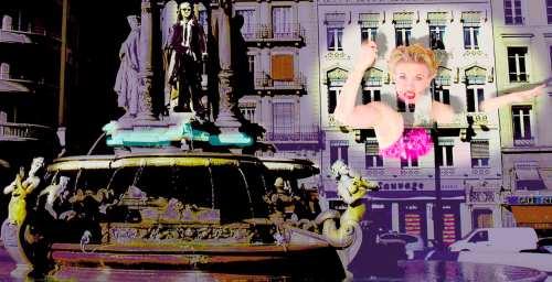 Fête des lumières Lyon 2009 - Place des Jacobins- DR La Dolce Vita Nortikstudio