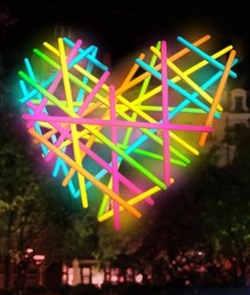 Fête des lumières - Vue d'artiste de Corazon, d'Agatha Ruiz de la Prada