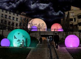 fete lumieres lyon 2012 Les nids volieres virtuelles Lucion Media