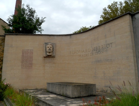 Tombeau de Edouard Herriot à Loyasse