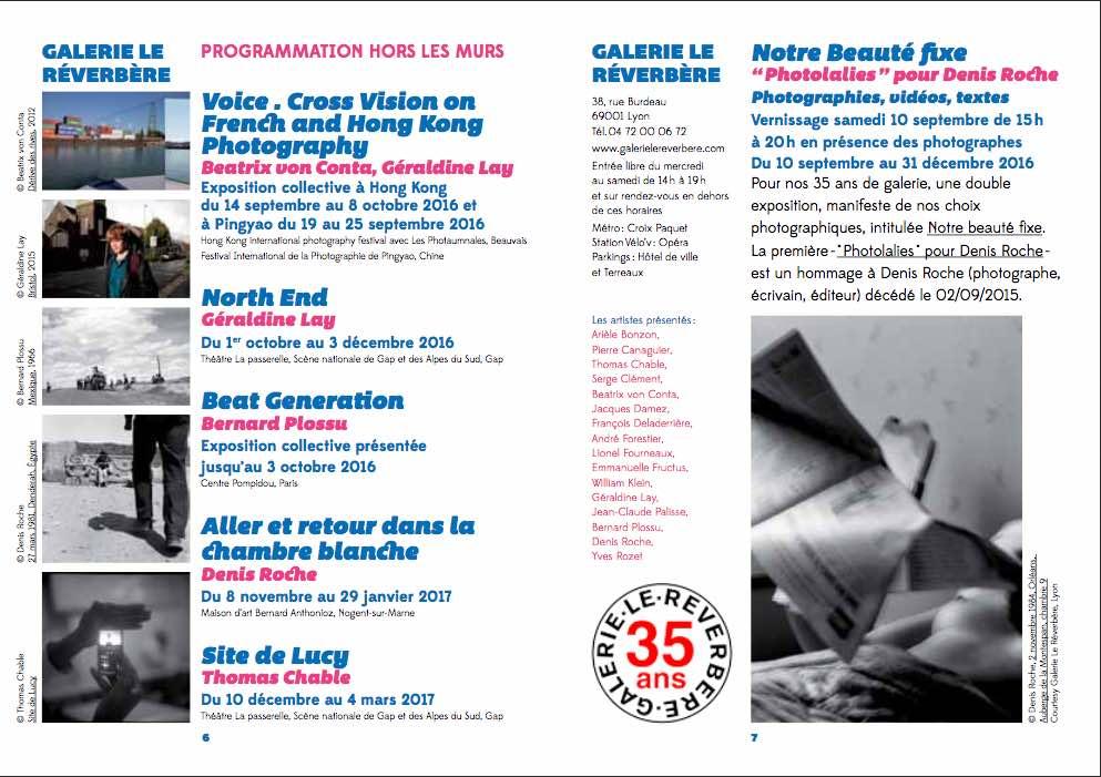 Guide des expos photos de Lyon et accessoirement des galeries et lieux photos à découvrir