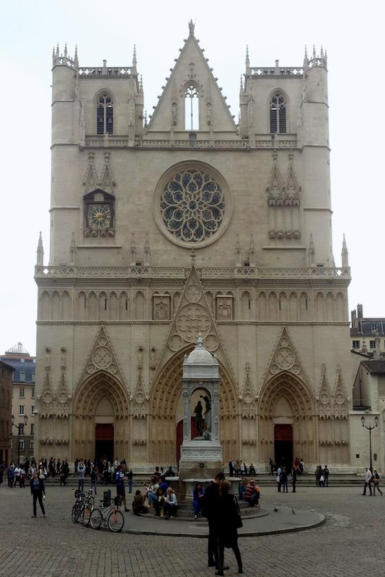 Cathédrale Saint-Jean, Vieux Lyon