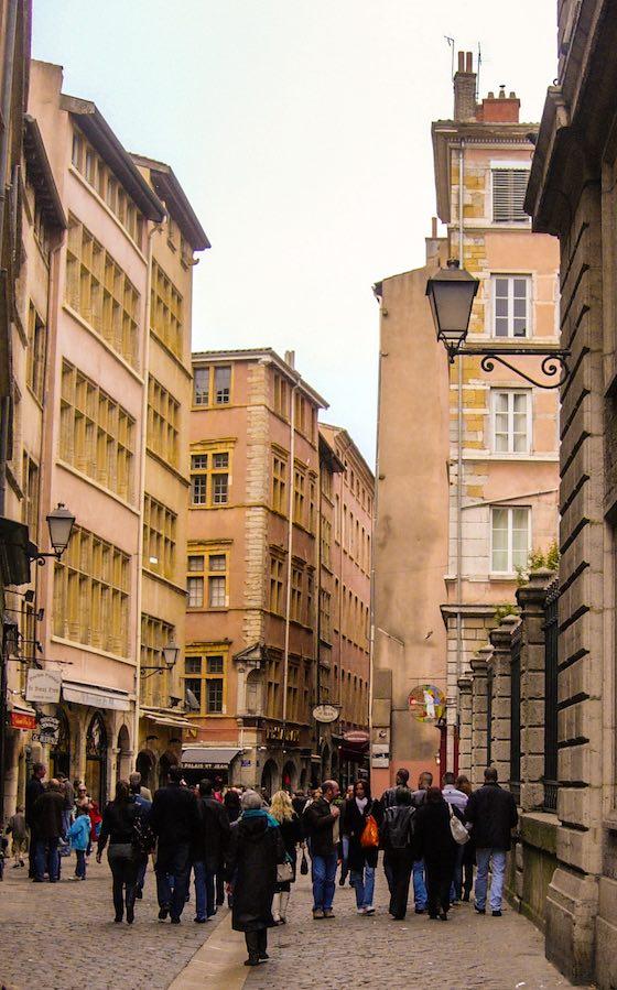 Rue Saint-Jean, Vieux Lyon - Photo Lyon-visite.info