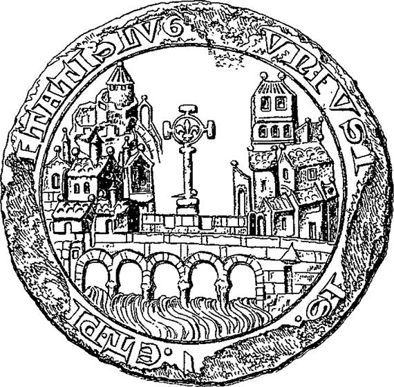 Le sceau de Lyon en 1271