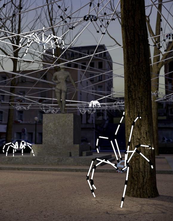Spider Circus, Place Sathonay par le Groupe LAPS