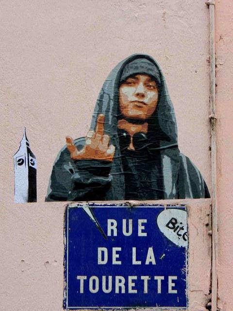 big ben street art syndrome