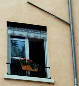 Trompe l'oeil en face du Mur des Lyonnais