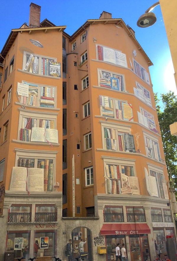 Mur peint des écrivains, Lyon