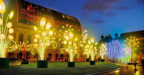 Fête des lumières Lyon 2009 - DR Mon jardin public TILT