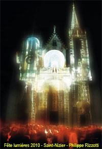 Fête des lumières 2010 - Saint-Nizier - Philippe Rizzotti