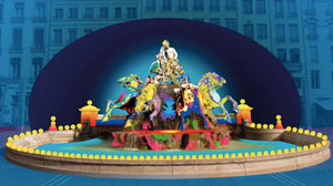 Fête des Lumières 2010 - Place des Terreaux - Patrice Warrener