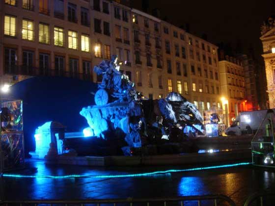 Fontaine Bartholdi - Place des Terreaux