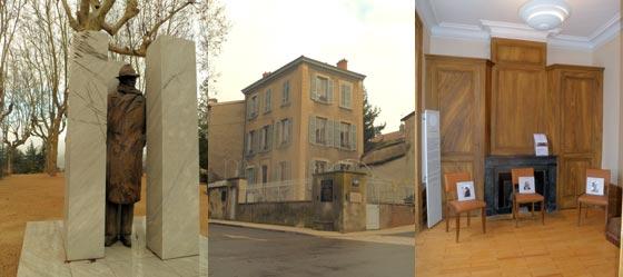 Mémorial Jean Moulin Caluire près de Lyon