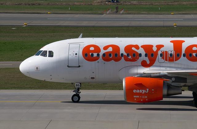 Avion de la compagnie Easyjet