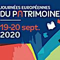 programme journees du patrimoine 2020 lyon
