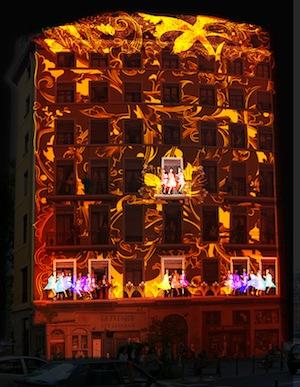 Dessine-moi... des lumières / Light Event - Fête des Lumières 2013 © Ville de Lyon (vue d'artiste)