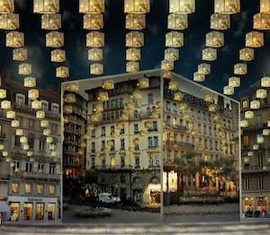 Show Case / Direction de l'éclairage public - Fête des Lumières 2013 © Ville de Lyon (vue d'artiste)