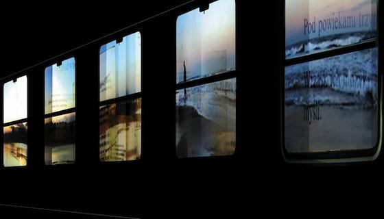 Voiture 21/Côté fenêtre / Milosh Luczynski - Fête des Lumières 2013 © Ville de Lyon