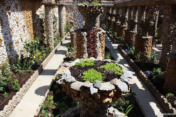Photo du jardin Rosa Mir publié sur la page Facebook publique de Gérard Collomb, maire de Lyon