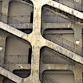 L'escalier de la traboule des voraces, sur les pentes de Croix-Rousse