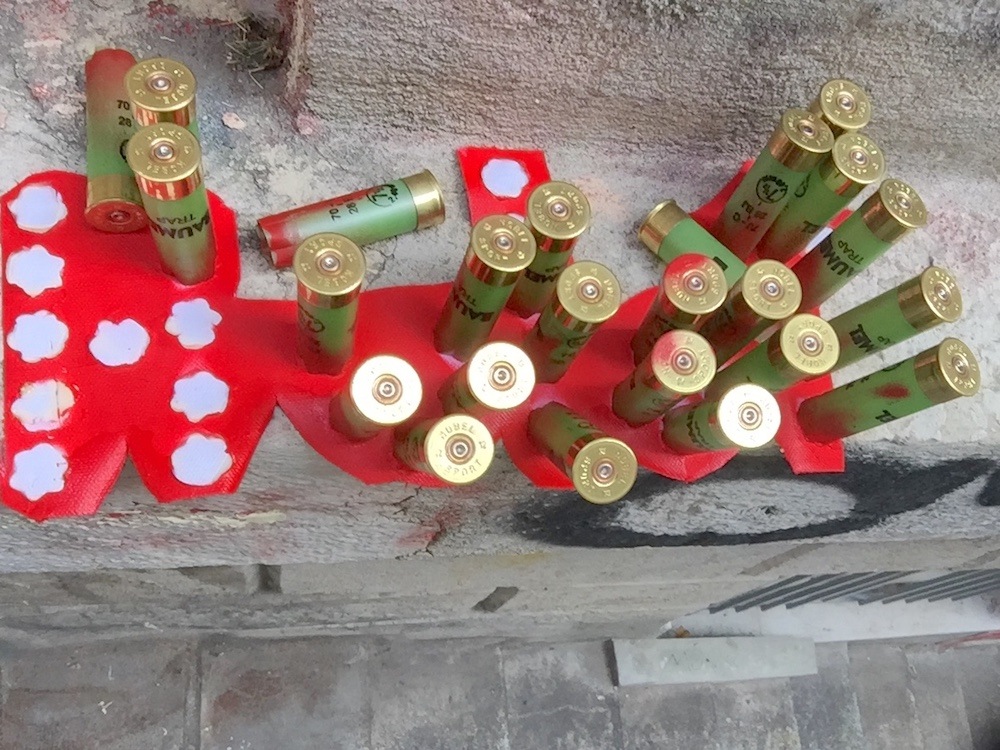 Le prix de la chasse - Street-artiste inconnu - Lyon, rue Mermet, 31 août 2018