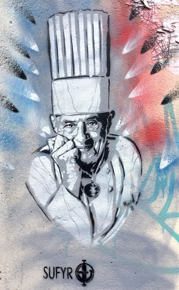 Paul Bocuse par SAFYR, photo du 14 septembre 2018, angle rues Crimée et JB Say