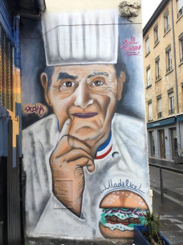 Paul Bocuse par Rocky, rue de la Thibaudière, le 9 juin 2019