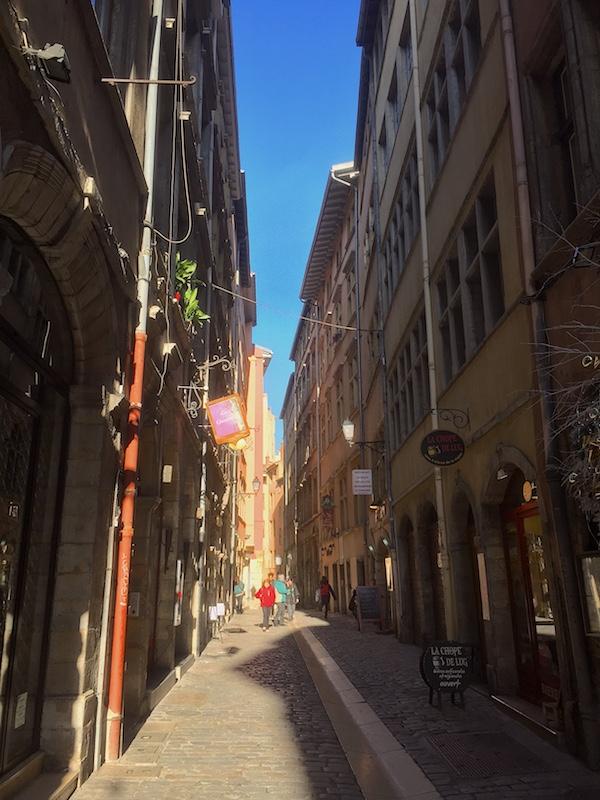 Rue du Bœuf, Vieux Lyon
