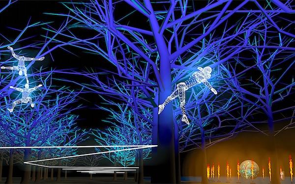 Animation Parc de la Tête d'Or, Regarde (c) Groupe F — Simulation d'artiste