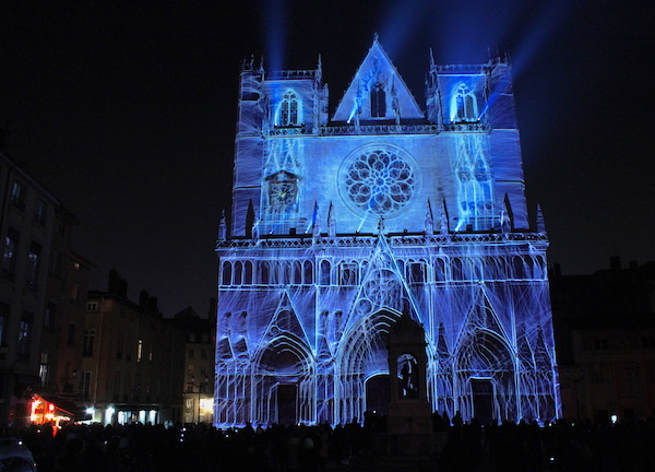 Cathédrale Saint_Jean, fête des lumières 2019