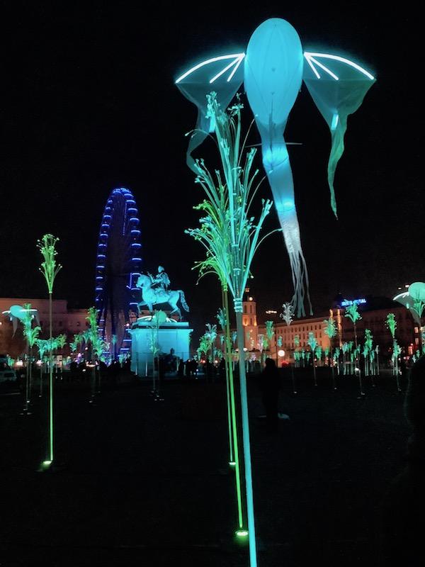 Place Bellecour, fête des lumières 2019