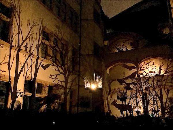 Hôtel de Gadagne, Vieux Lyon - Fête des lumières 2019