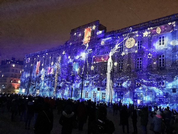Places des Terreaux, fête des lumières 2019