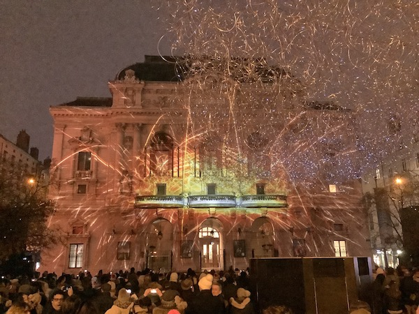 Théâtre des Célestins, fête des lumières 2019