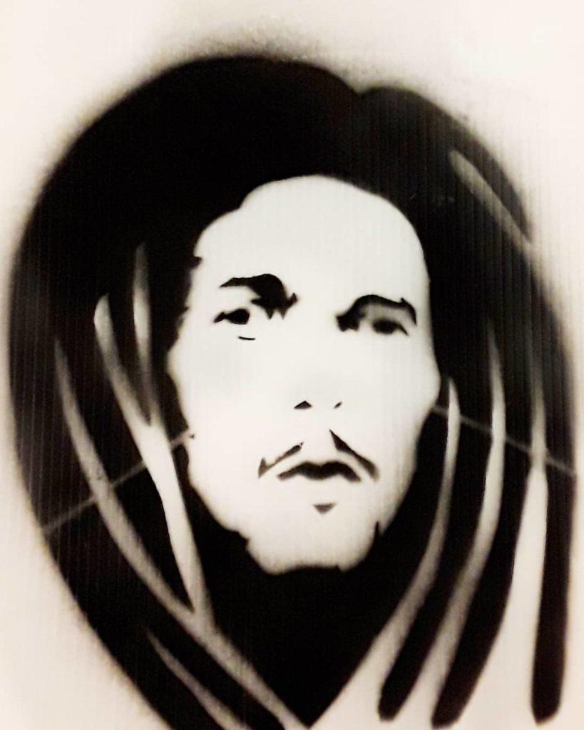 Portrait au pochoir der Jalb38