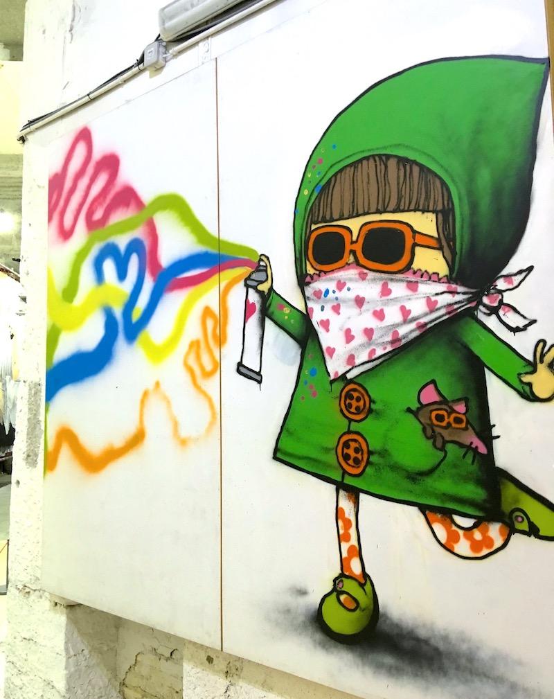 street art Lyon - visite guidées déconfinement après le 11 mai en minigroupes tout petits groupes